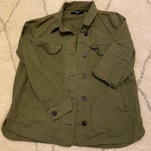 Forever 21 Hunter Green Button Up